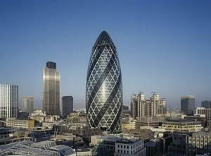 Хмарочос Мері-Екс в Лондоні - *огірок* у фінансовому центрі міста