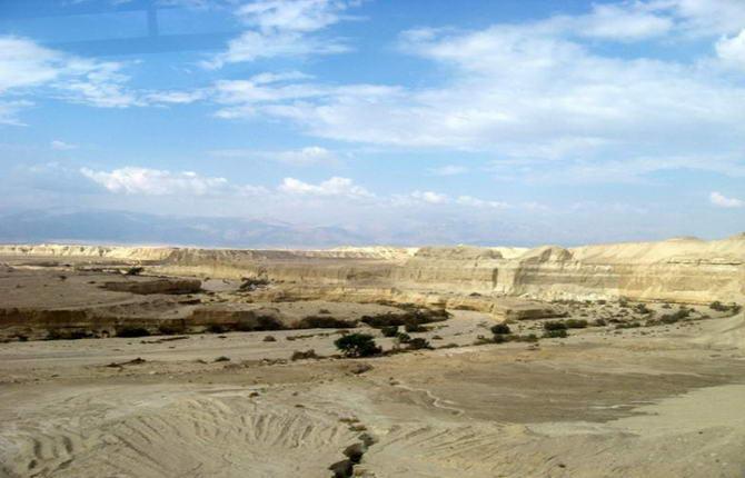По дорозі до Мертвого моря
