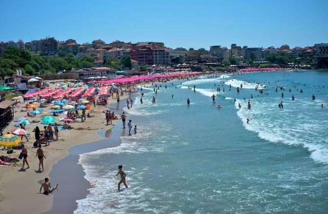 море на курортах Болгарії