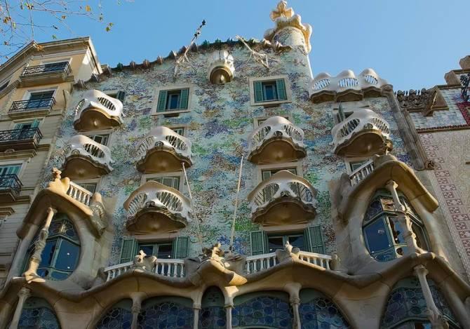 Барселона. Шедевр Гауді - будинок Батло