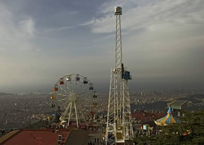 парк атракціонів на горі Тібідабо