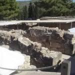Таємничий Кноський палац на острові Кріт в Греції