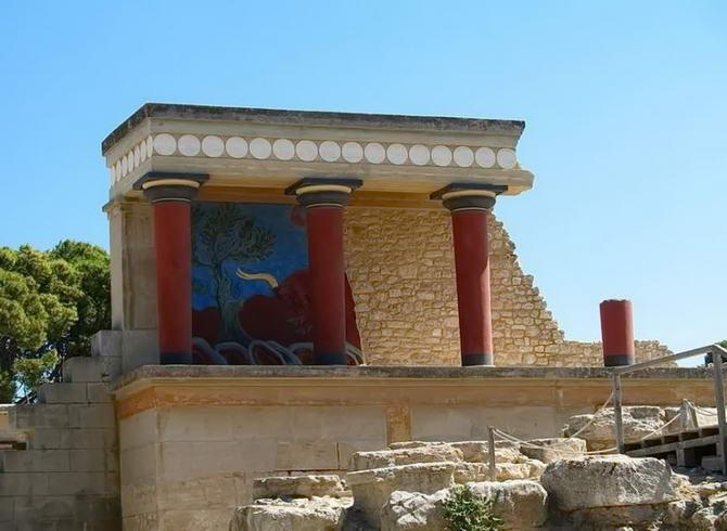 Кноський палац на острові Кріт