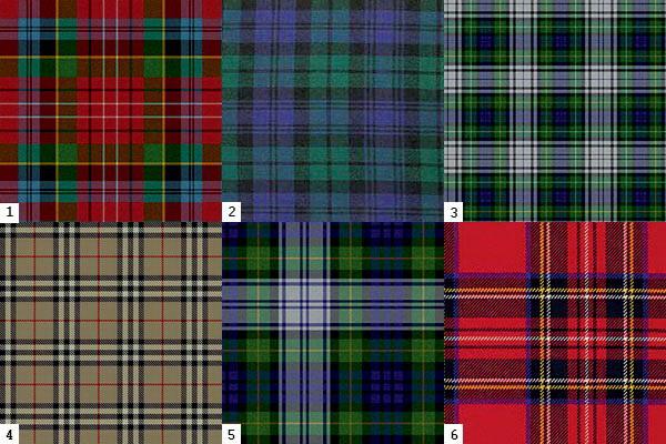 шотландські тартани