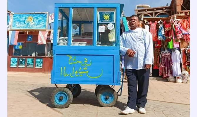 місцеві торговці Єгипту