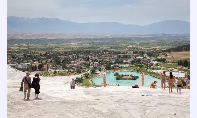 екскурсія в Туреччині на Памукале