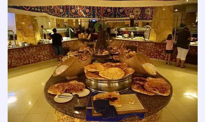 одноманітність їжі в готелях Єгипту