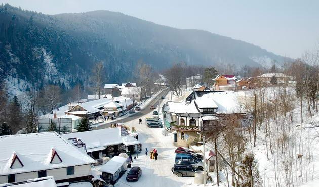 гірськолижний курорт Яремче
