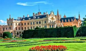 замок Ледніцe у Чехії