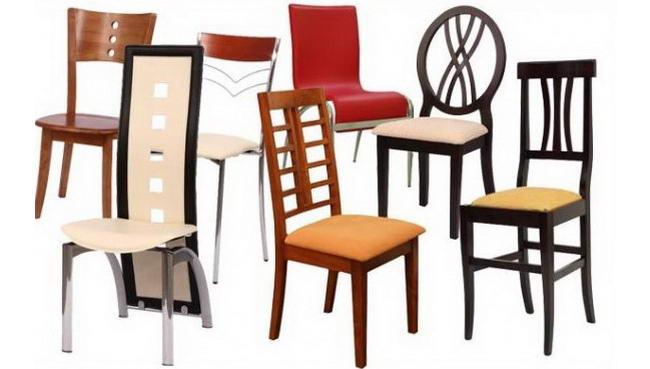 види стільців