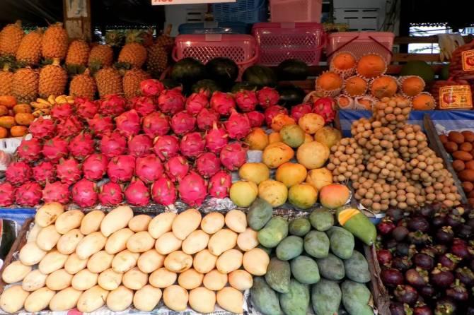 екзотичні фрукти Таїланду