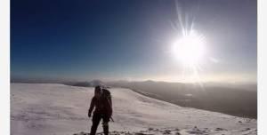 Що можна побачити, якщо забратися на засніжену гору в Ірландії
