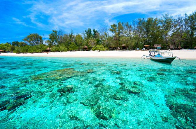 Гілі-Траванган, острова Гілі, Індонезія