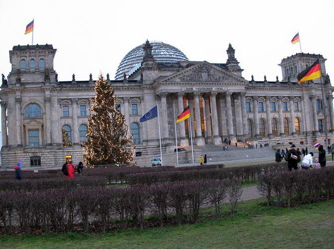 Берлін. Фото Рейхстагу