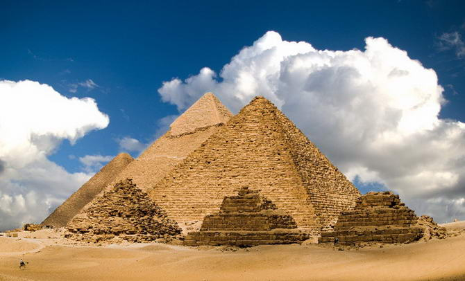 єгипетські піраміди в Гізі
