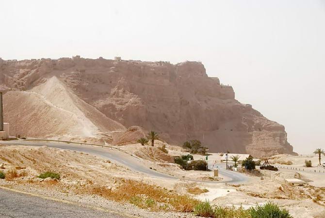 гори біля Мертвого моря