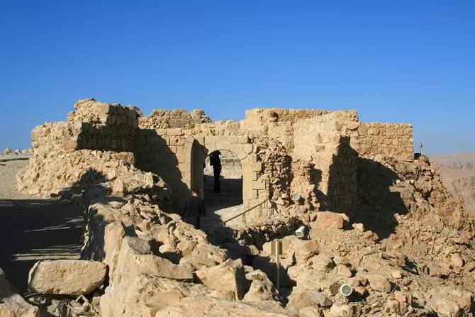руїни фортеці Масада