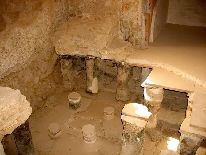 древні лазні фортеці