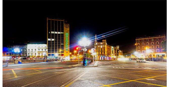 нічний Дублін