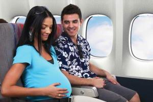 Жінки можуть здійснювати перельоти до 37 тижня вагітності