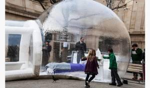 Готель в мильній бульбашці відкрився в Англії