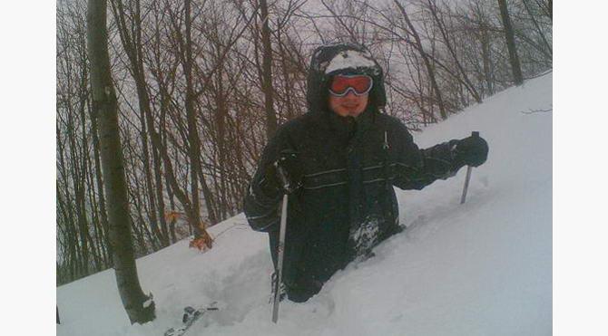 моє занурення у сніг