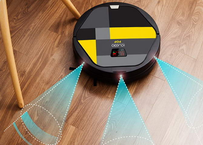 пылесос-робот iclebo