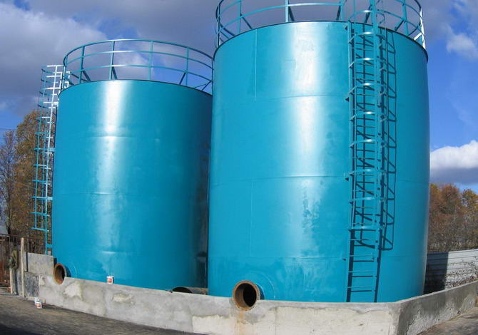 резервуары вертикальные из стали
