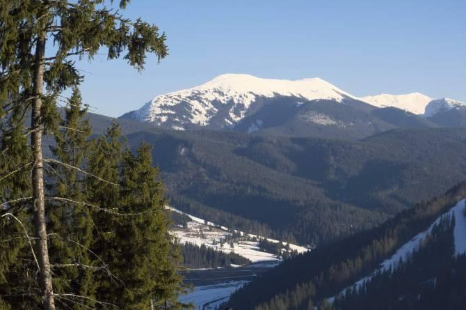 природна краса Карпатських гір