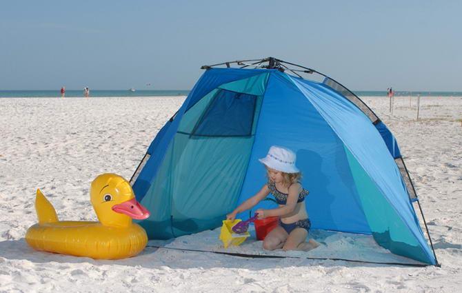туристический тент для пляжа
