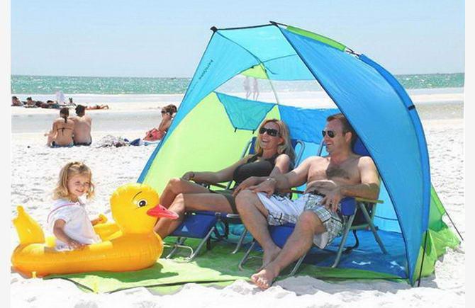 пляжный тент для семьи