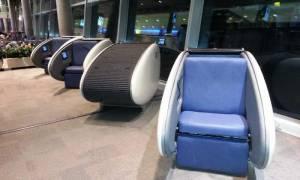 У аеропорту Хельсінкі з'явилися спальні капсули