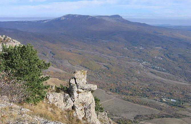 горный массив Чатыр-Даг