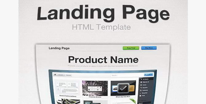Landing page должна обладать высокой конверсией