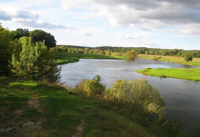 Зелёный туризм. Река Случь на Житомирщине
