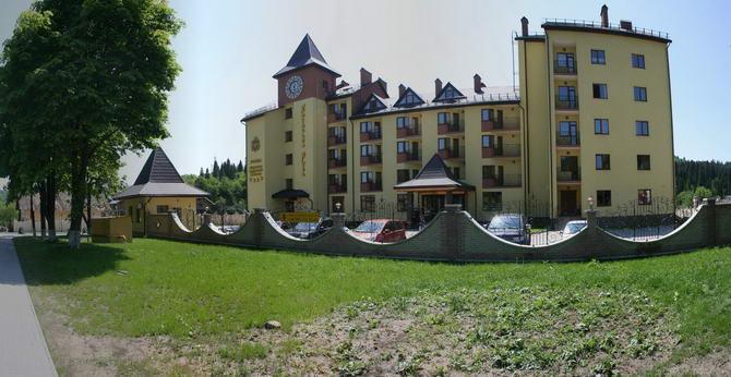 Санаторий «Киевская Русь» в летний период