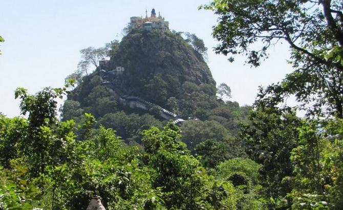 шлях до Таунг Калата