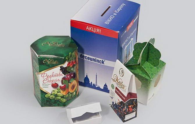 Варианты изготовление упаковок и коробок типографией Printyou