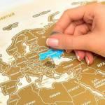Зачем нужно купить скретч карту мира? В чем её прелесть? И что это такое?