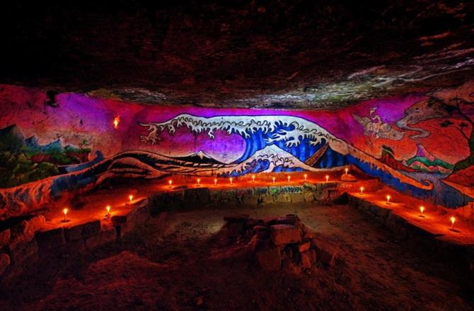граффіті в катакомбах Парижу