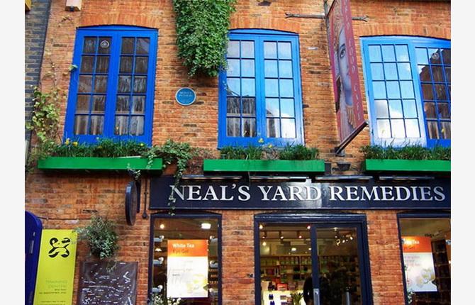 магазин Neals Yard Remedies в районі Нілс Ярд