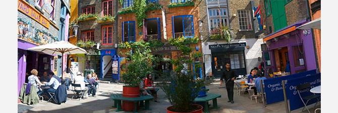 Нілс Ярд в Лондоні