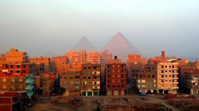 район Египта - Гиза