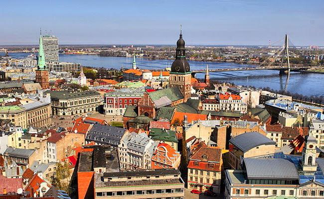 Рига - одне з найкрасивіших міст світу