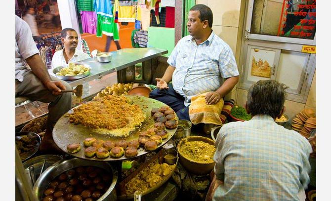 різноманітність вегетаріанських блюд в Індії