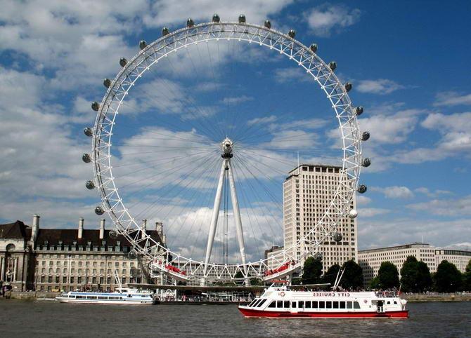 колесо огляду - Лондонське око. Фото 1