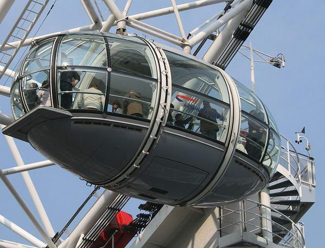 Лондонське око. Фото 2