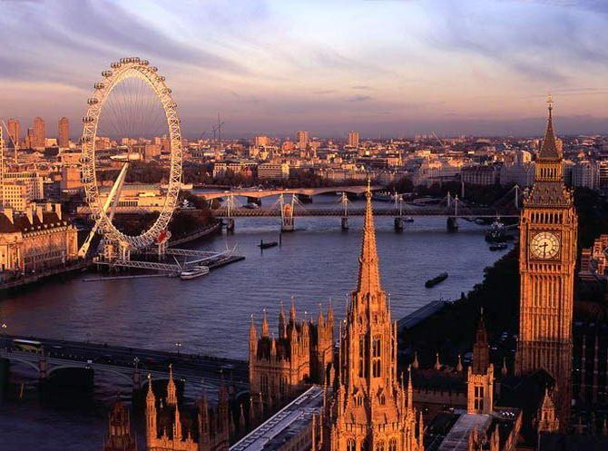 Лондонське око. Фото 5