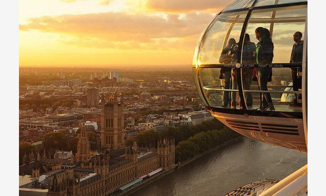 Лондонське око. Фото 7
