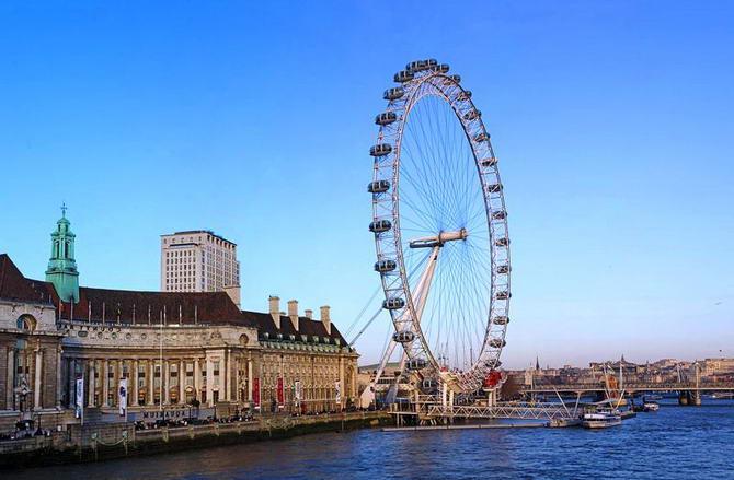 Лондонське око. Фото 8